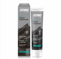 Зубная паста Aekyung 2080 Black Clean Charcoal Toothpaste
