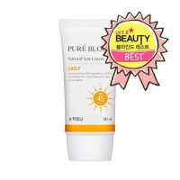 Солнцезащитный крем A'PIEU Pure Block Natural Sun Cream Daily SPF45 PA+++